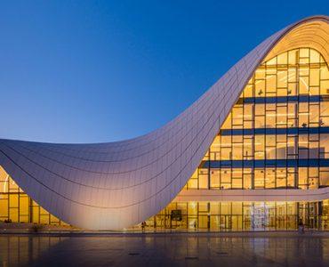 Heydar Aliyev Center in Baku, Azerbaijan